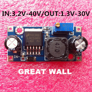 Гаджет  20pcs LM2596 Power supply module DC-DC Step-down module 5V/12V/24V adjustable Voltage regulator 3A Freeshipping None Электронные компоненты и материалы