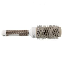 53mm Ceramic Iron Radial Round Comb Hair Dressing Brush Salon Styling Barrel(China (Mainland))