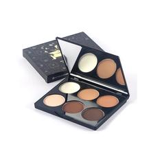 Shadow powder palette high light makeup palette cosmetic face concealer makeup Biying powder makeup palette Stereo light makeup