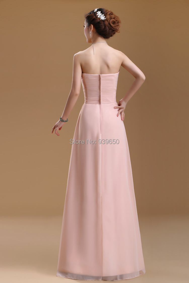 A line Floor length Long natural waist off the shoulder sleeveless sweetheart chiffon Wedding Party Bridesmaid