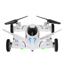 Original SY X25 2.4G 4CH 6-Axis Gyro Air-Gronud RC Flying Car Drone with 0.3MP Camera 360 Degree Flips Auto Return Function