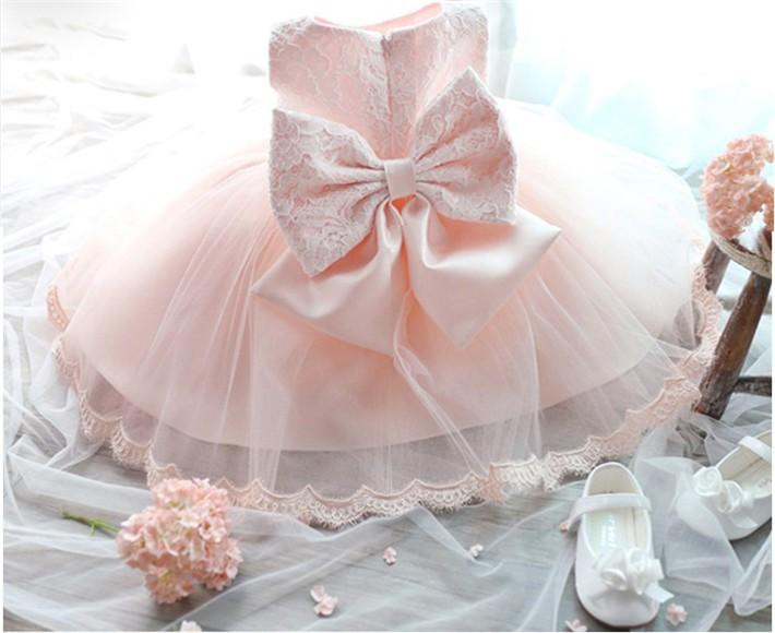 newborn baby wedding dress