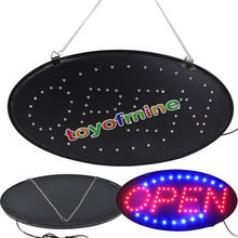 Ultra Bright LED Neon Light Animated Motion with ON/OFF OPEN Business Sign S30(China (Mainland))