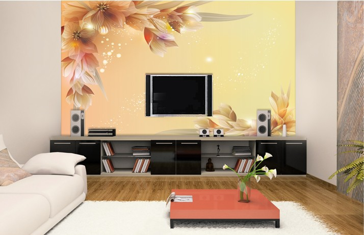 Home Wallpaper Designs For Living Room Com.