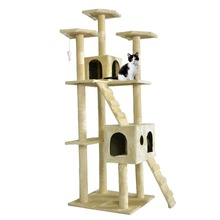 """New  73"""" Cat Tree Scratcher Play House Condo Furniture Toy Bed Pet Hou(China (Mainland))"""