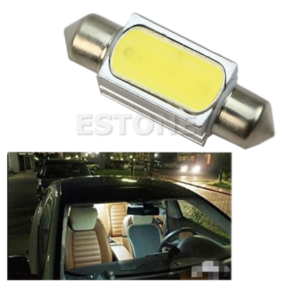 hot W110- 2016 Newest 1PC 36MM Canbus No Error White Dome COB LED Car Festoon Interior Light Bulb free shipping<br><br>Aliexpress