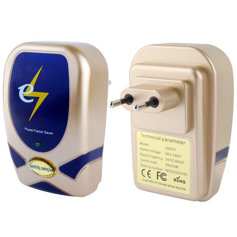 10pcs/Bag EU Plug 28KW Energy Saving Power Saver Single Phase Electricity Energy Saving Box, For Home / Air Conditioning(China (Mainland))