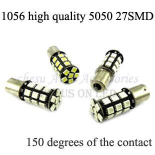 Parking car styling 1056 5050 27 smd high quality auto led light bulbs front turn py21w four colors to chose in free shipping(China (Mainland))