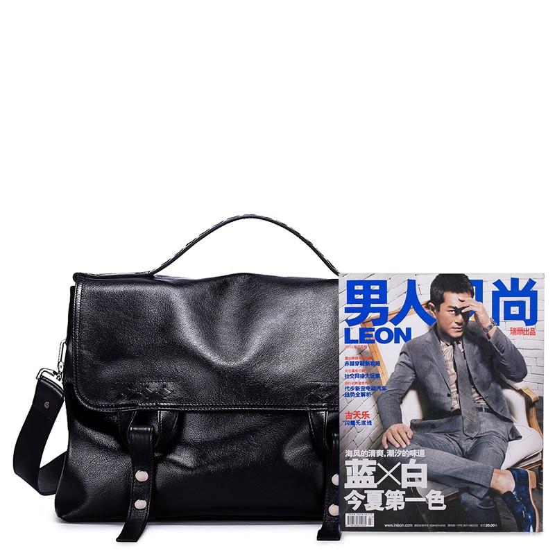 Genuine Leather Handbags 190245-06