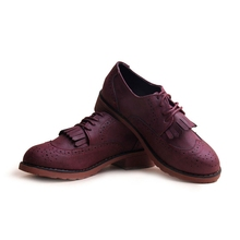 Spring Autumn New 2015 Women Shoes Serpentine Shoes Woman Flats Lace Up Higher Fashion Bost Shoes