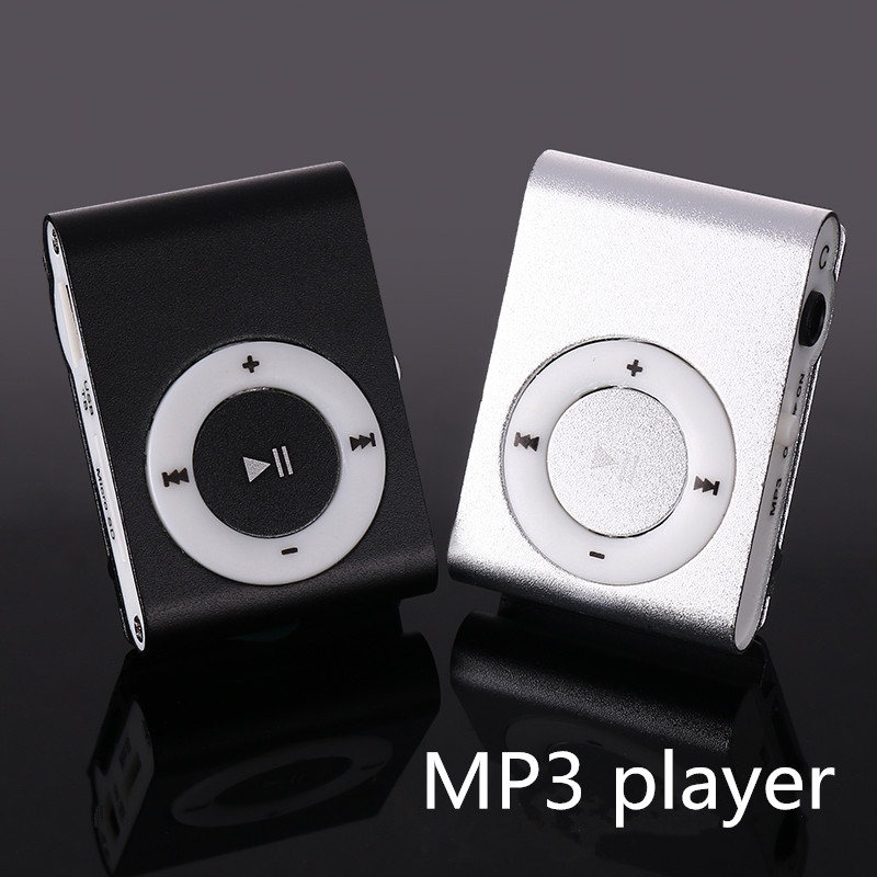 MP3 Music Media Mini Clip Metal USB Classic MP3 Player With Earphone Support Micro 108G SD TF Card Portable Audio Running Music(China (Mainland))