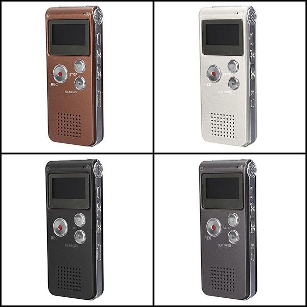 8GB Mini USB Flash Digital Audio Voice Recorder Dictaphone MP3 Player Grey Pen Drive(China (Mainland))