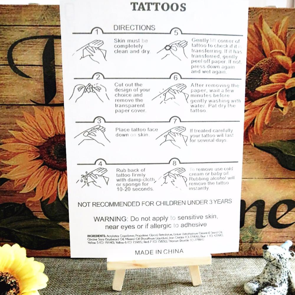 Sexy Indian Warriors Temporary Tattoo Body Art Flash Tattoo Sticker 12 20cm Waterproof Tatoo Summer Style