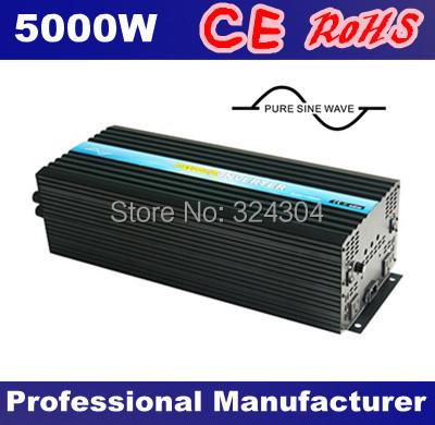 Single Phase/High Frequency/Off Grid Power Inverter 5000w,Inverter 12v 220v(China (Mainland))