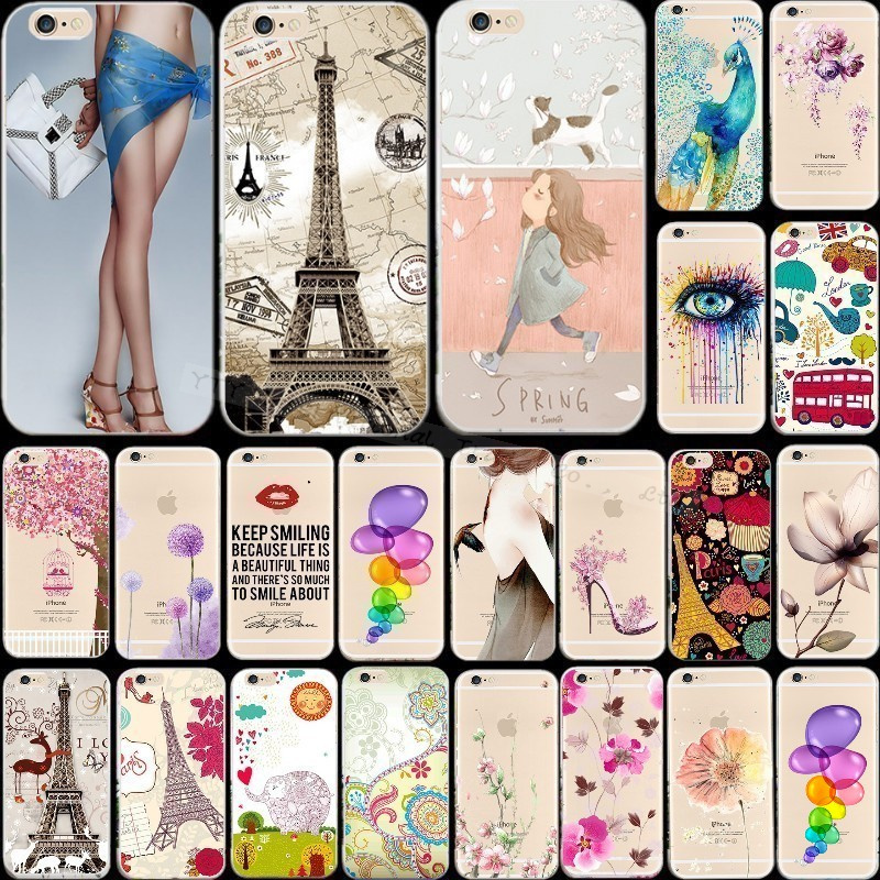 6/6S Beautiful Silicon Phone Cases For Apple iPhone 6 6S Painted Case Cover Shell 2016 Best Choose Pretty Magic Design Popular(China (Mainland))