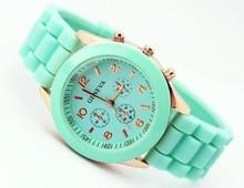 2015 Trendy Candy Color Wrist Watches Man Sport Watch Women Quartz Watch Relogio Feminino Silicone Women Watches Free Shipping(China (Mainland))