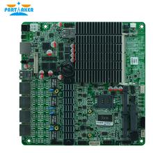 Безвентиляторный J1900 4 Порта Ethernet Брандмауэр Материнская Плата поддержка 2.5 «HDD внутренний БАЙПАС