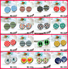Buy 10PCS Unique 3D Embossed 16mm Round Coloured Drawing pattern Laser Cut wood Cabochon DIY (WG-211-226) for $7.00 in AliExpress store