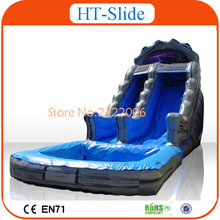 2016 Hot Sale Free Shipping Custom Design Cheap Intex Inflatable Slide For Kids(China (Mainland))