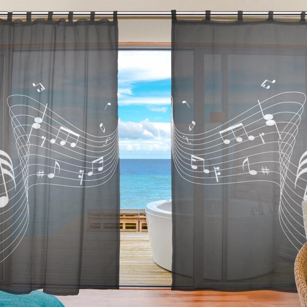 noir voile rideaux achetez des lots petit prix noir. Black Bedroom Furniture Sets. Home Design Ideas