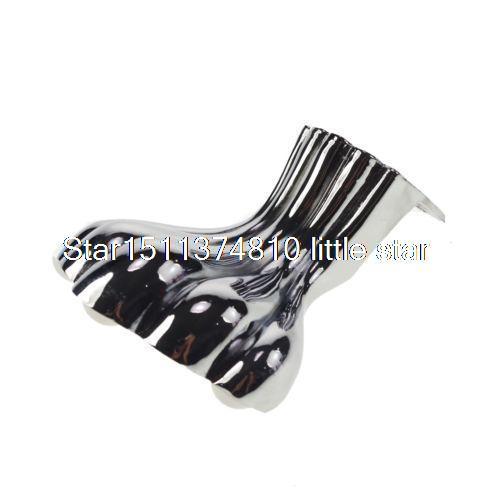 105mm Set Metal Furniture Cabinet Legs Tea Table Bed Chair Sofa Leg Feet 4pcs(China (Mainland))
