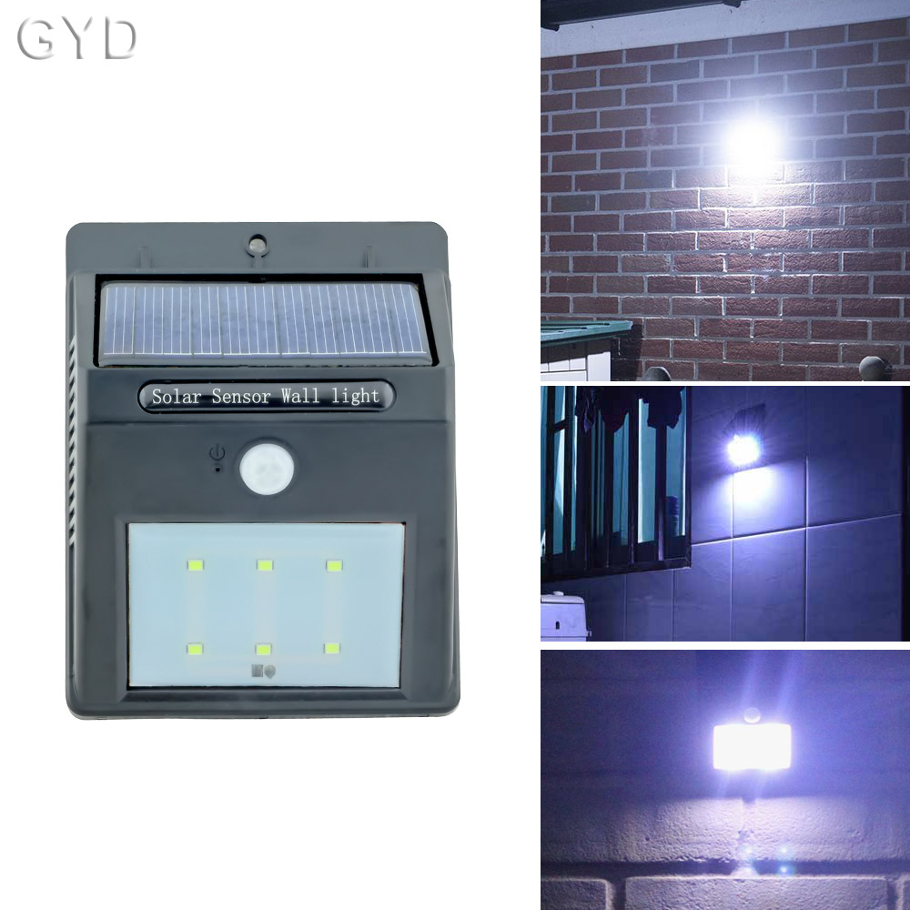 2x Body sensors Solar Light Solar Light Solar infrared sensor light wall lamp garden light Cold white Warm white<br><br>Aliexpress