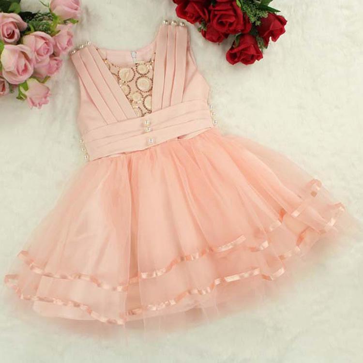 Infantil girl vestidos de festa Summer sleeveless ball gown girls dresses Mesh wedding dress kids Princess party costume HA179<br><br>Aliexpress