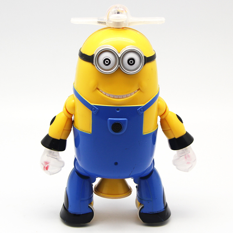 Can sing and dance from new dads can walk rotating electric robot toys gifts(China (Mainland))