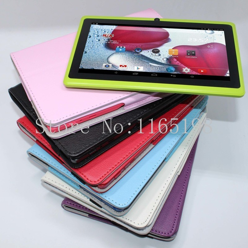 discount!!! Tablet PC 7 inch A33 Quad Core Dual Cameras Bluetooth WIFI 4GB 800*480 pixels(China (Mainland))