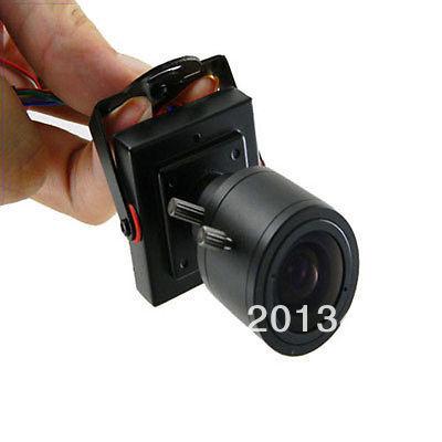 Mini HD 700TVL CMOS 2.8-12mm Manual Focus Zoom Lens CCTV Security Color Camera