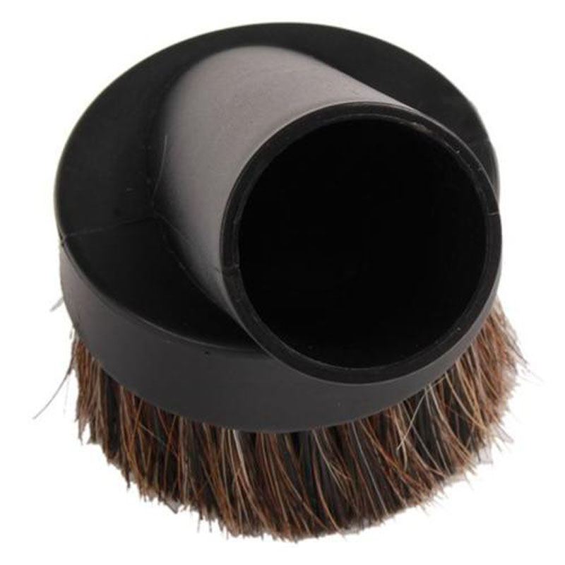 High Quality Round Home Horse Hair Dusting Brush Dust Clean Tool Attachment Vacuum Cleaner 1pcs(China (Mainland))