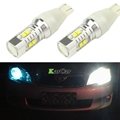 650LM T15 906 CREE Chip XBD 50W LED Reverse Lights 921 Rear Tail Brake bulb 12V