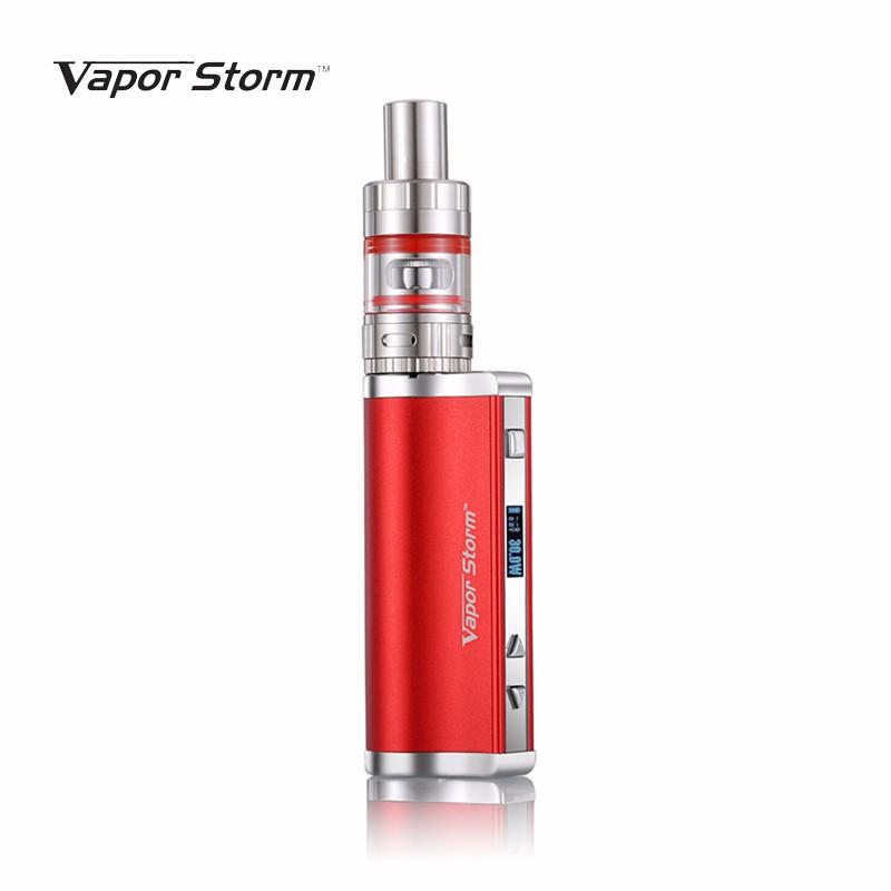Vapor Storm Electronic Cigarette Kit H30 Mini 30W Box Mod With Sub Ohm Box MOD Vape hookah Vaporizer VS istick (red color)(China (Mainland))