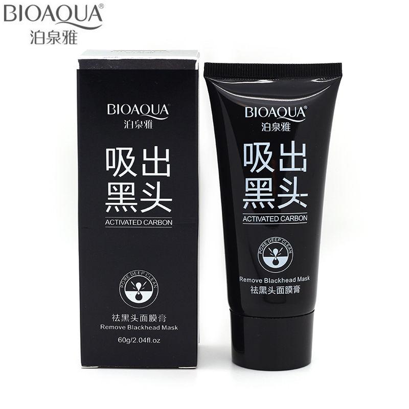 BIOAQUA Facial Blackhead Skin Care Remover Deep Cleaner Mask Acne Treatments Black Head Mask Beauty Ageless Beauty Ageless 60g(China (Mainland))
