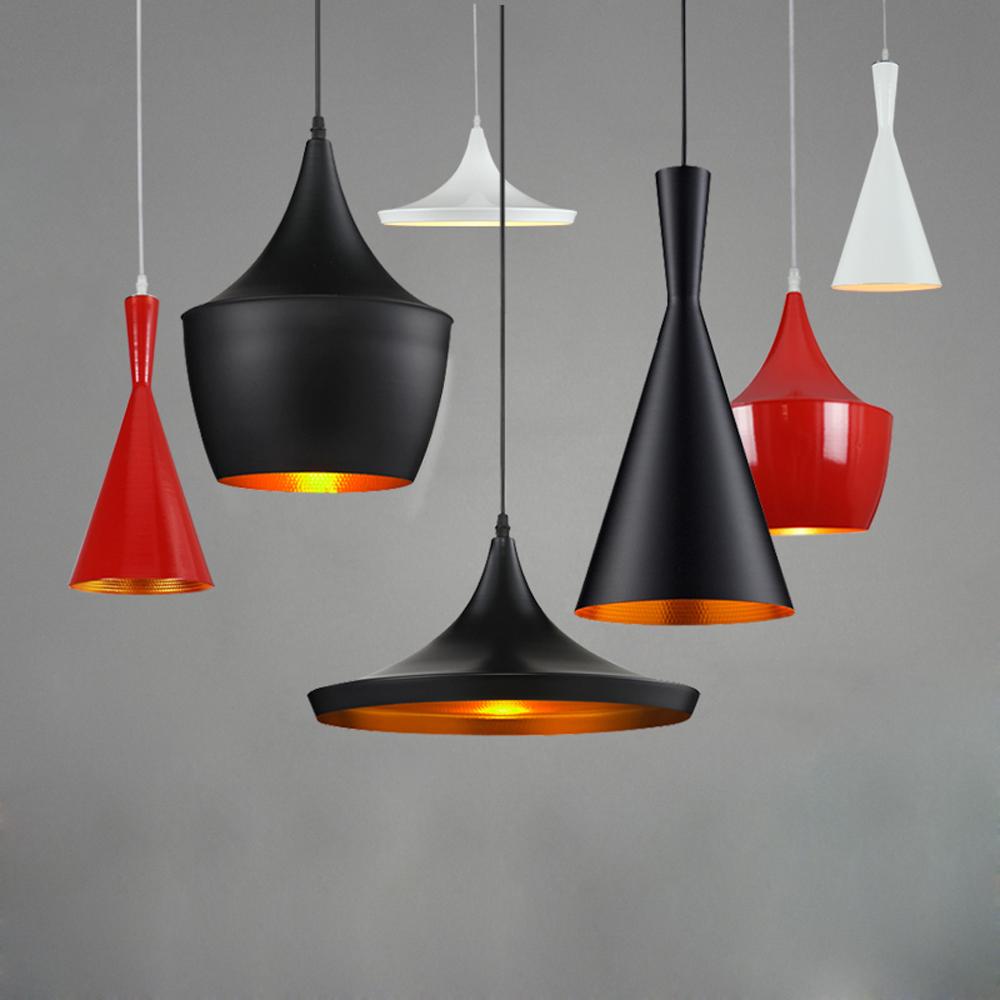 Гаджет  Indoor Light Tom Dixon Design LED Pendant Lamp E27 110V/240V LED Pendant Light Black/White musical instrument None Свет и освещение