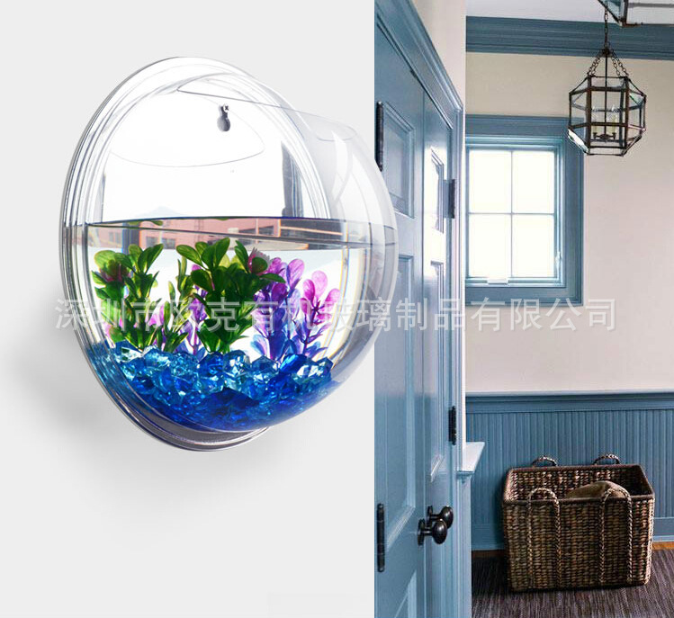 2015 top sale aquarium fish bowl mini fish bowl acrylic for Acrylic fish bowl