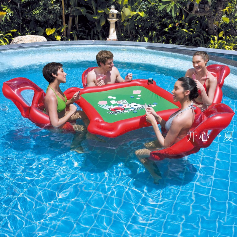 2018 Water Games Beach Party Inflatable Table Toy Pool