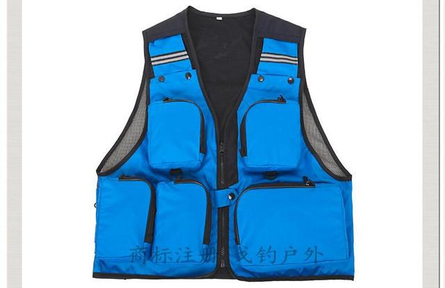 Бесплатная доставка, Многофункциональный марки черного мужские жилет, Открытый нескольких ...