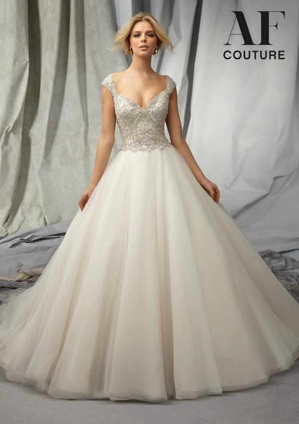 Ball Gown Wedding Dresses With Short Sleeves : High quality princess ball gown wedding dress short