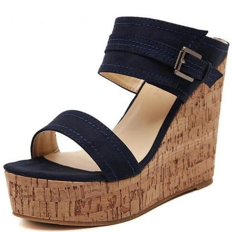 popular wood wedge sandals buy cheap wood wedge sandals