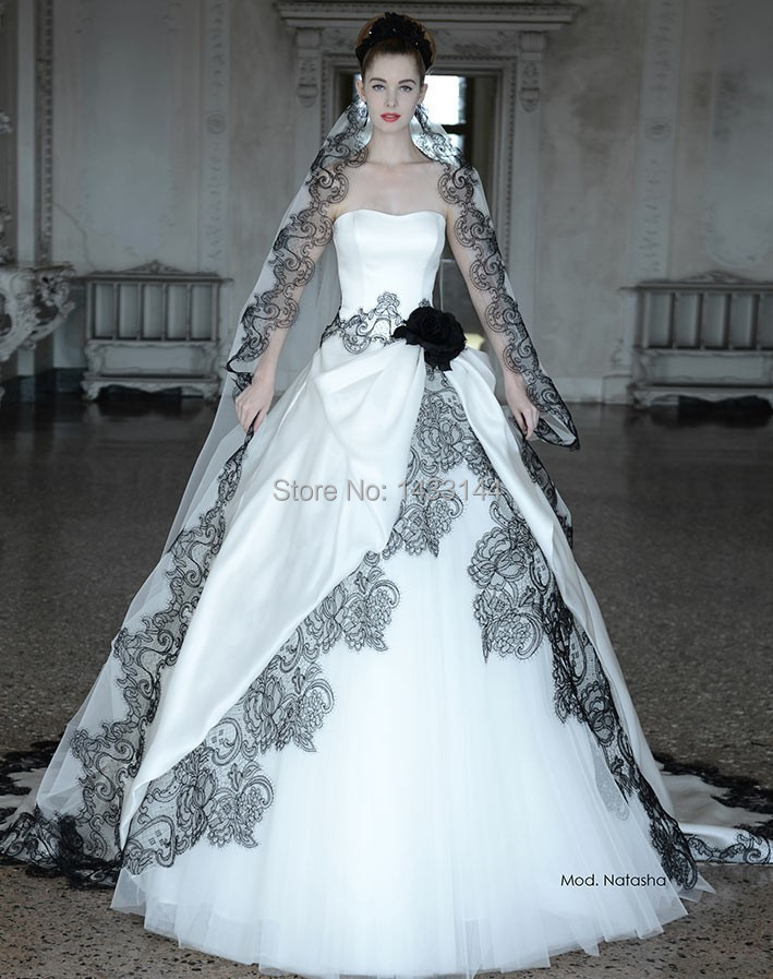 Popular Plus Size Gothic Wedding Dresses Buy Cheap Plus