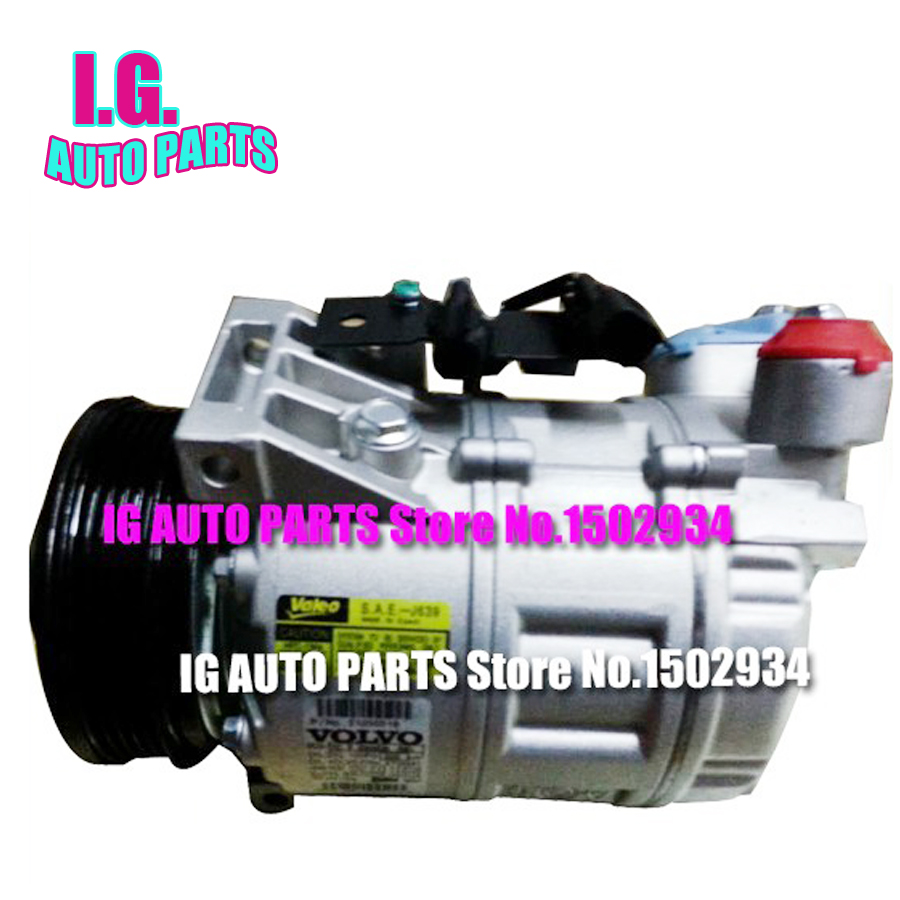 NEW Auto AC Compressor for Volvo Pulley PV5 for Volvo XC70 V70 S80 30780443 31305833 36000331 36000456 36002425(China (Mainland))