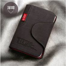 New 2015 women/men genuine leather famous designer brand business bank credit Card holder bag case membership card bag/wallet