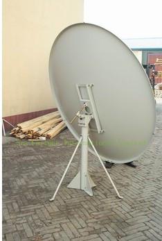 satellite TV dish antenna/ Ku Band Offset 150cm 59 inch Satellite TV Dish offset antenna ,Drop Shipping(China (Mainland))