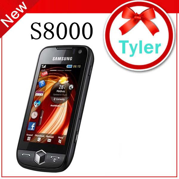 Original samsung S8000 Jet GPS 3G WIFI 5MP TouchScreen Mobile Phone, Free Shipping(China (Mainland))