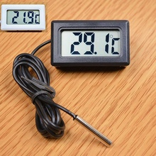 Buy 1X Digital LCD Indoor Temperature Humidity Thermometer Mini Hygrometer Meter for $1.31 in AliExpress store