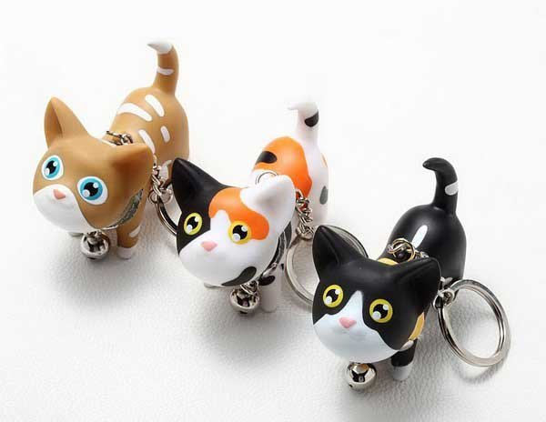 Wholesale Funny And Lovely Kat Cat Keychain,couple's key ring,creative toys