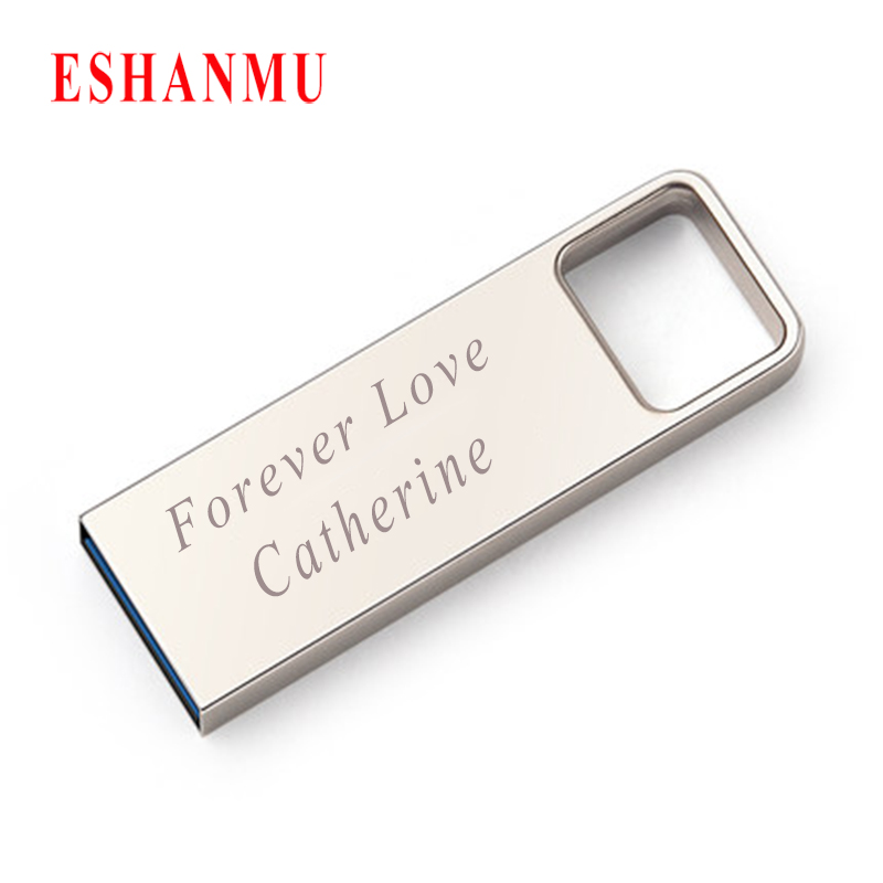 Eshanmu Superior Quality USB 2.0 16GB usb flash drive metal stick customzied with your logo Bulk Cheap Best Gift Item(China (Mainland))