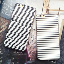 2016 Retro Fashion Phone Case for Apple iPhone 5s SE 6s 6 6Plus Zebra Line Stripe Classical Soft Protect Shell Cover Phone Bags