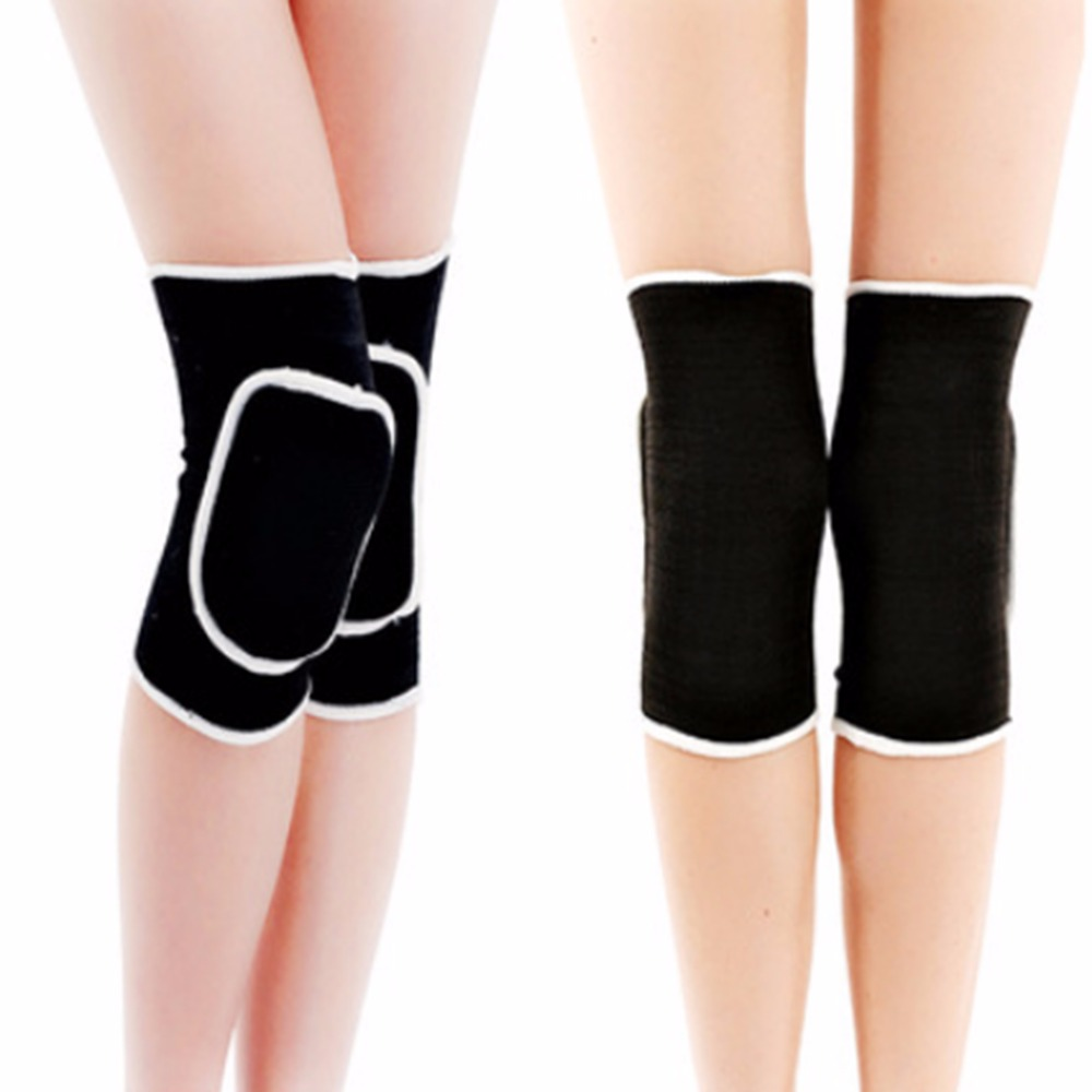 New Durable Knee Support Stretch Brace Pads Wrap Band For Athletic Sports Climbing Safety, 3 Colors(China (Mainland))